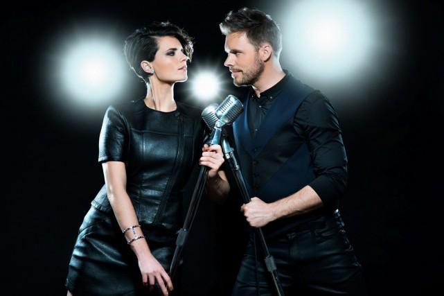 L'émission de Marie-Ève Janvier et de Jean-François Breau... (Photo fournie par Ici Radio-Canada Télé)