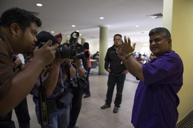 Zulkifli Anwar Ulhaque, connu sous son nom de... (Photo MOHD RASFAN, AFP)