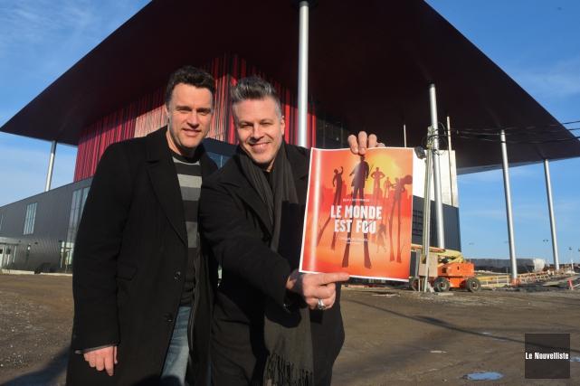 C'est à Daniel Fortin que le Cirque du... (Photo: François Gervais Le Nouvelliste)