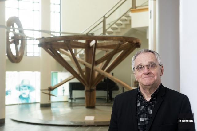 Le directeur du Musée québécois de culture populaire... (Photo: Stéphane Lessard Le Nouvelliste)