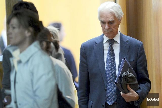 Jacques Delisle, lors de son procès... (Photothèque Le Soleil, Patrice Laroche)