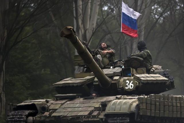 L'annexion de la Crimée, puis le conflit dans l'est de l'Ukraine, ont cassé la... (PHOTO VADIM GHIRDA, ASSOCIATED PRESS)