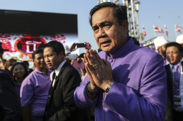 Prayut Chan-O-Cha... (PHOTO AGENCE FRANCE-PRESSE)