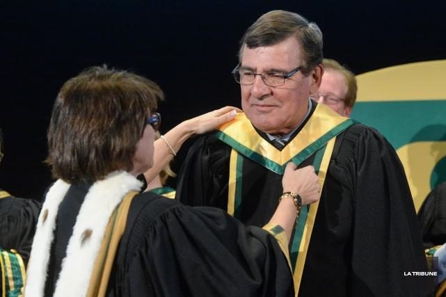 SergeSavarda reçu jeudi un doctorat honorifique de l'Université... (Imacom, Maxime Picard)
