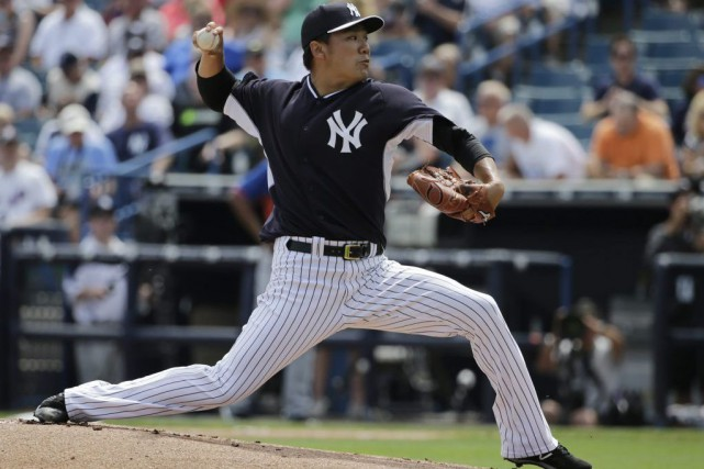 Masahiro Tanaka... (PHOTO KATHY WILLENS, ASSOCIATED PRESS)