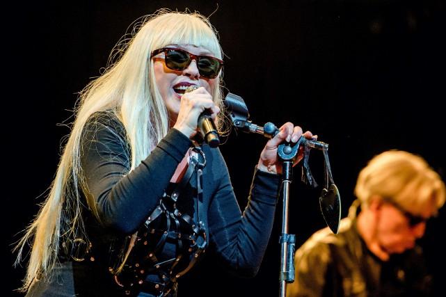 Debbie Harry, chanteuse du groupe Blondie... (PHOTO ARCHIVES AFP)