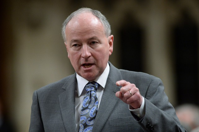 Le ministre des Affaires étrangères, Rob Nicholson... (PHOTO SEAN KILPATRICK, LA PRESSE CANADIENNE)