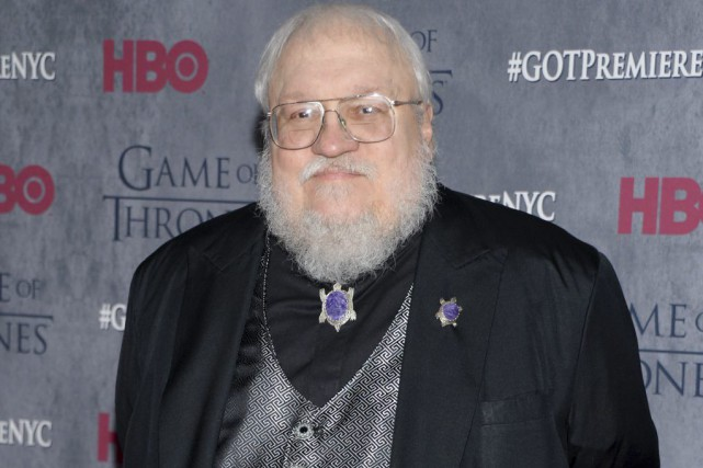 George R. R. Martin... (PHOTO EVAN AGOSTINI, ARCHIVES ASSOCIATED PRESS)