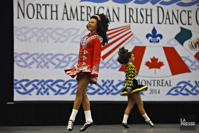 Deux jeunes participantes lors du Championnat nord-américain de... (PHOTO OLIVIER JEAN, ARCHIVES LA PRESSE)