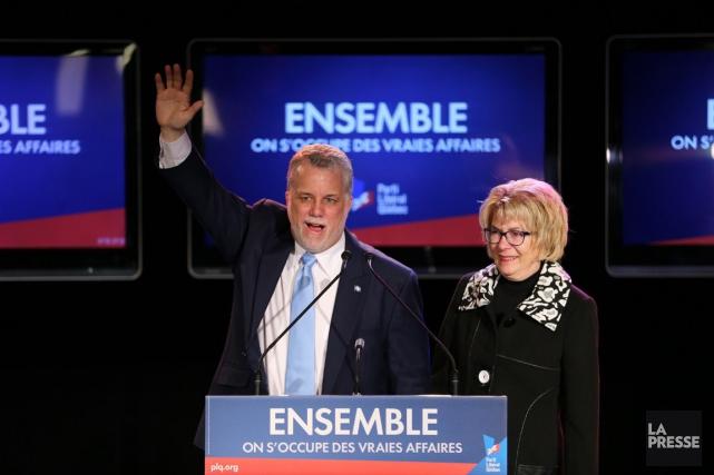 Les Québécois ont élu un gouvernement libéral majoritaire... (André Pichette, Archives La Presse)