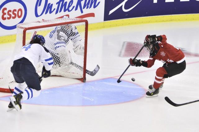 Le Canada a blanchi la Finlande 3-0 vendredi,... (Claudio Bresciani, Agence France-Presse)