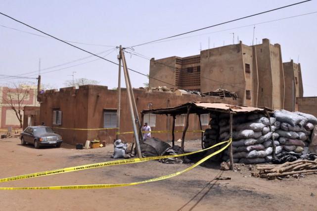 Le 7 mars, la capitale malienne a été... (Photo HABIBOU KOUYATE, AFP)