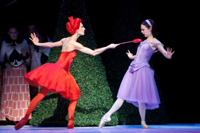 Alice's Adventures in Wonderland, au Centre national des... (Courtoisie)