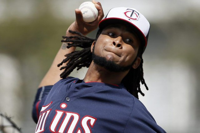 Ervin Santana... (Photo Tony Gutierrez, archives AP)