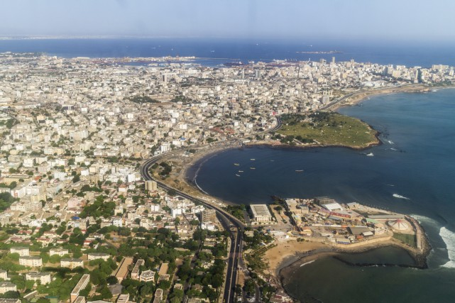 La ville de Dakar.... (Photo Digital/Thinkstock)
