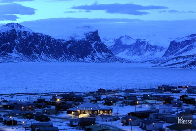 Le petit village de Pangnirtung a déclaré l'état... (Photo Bernard Brault, archives La Presse)