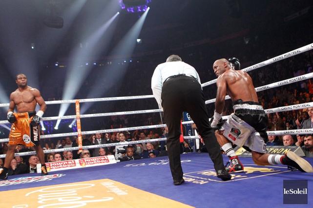 Le combat entre Jean Pascal et Bernard Hopkins... (Photothèque Le Soleil, Yan Doublet)