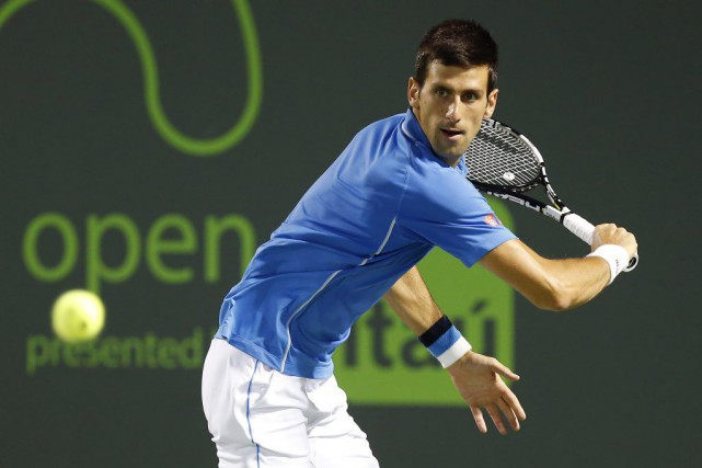 Novak Djokovic... (Photo Geoff Burke, archives USA TODAY Sports)