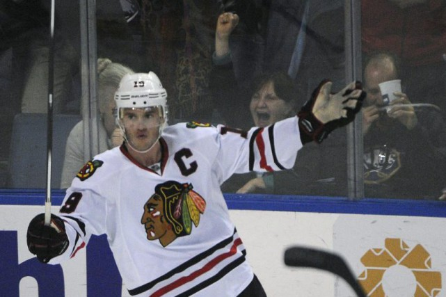 Jonathan Toews... (Photo Gary Wiepert, AP)