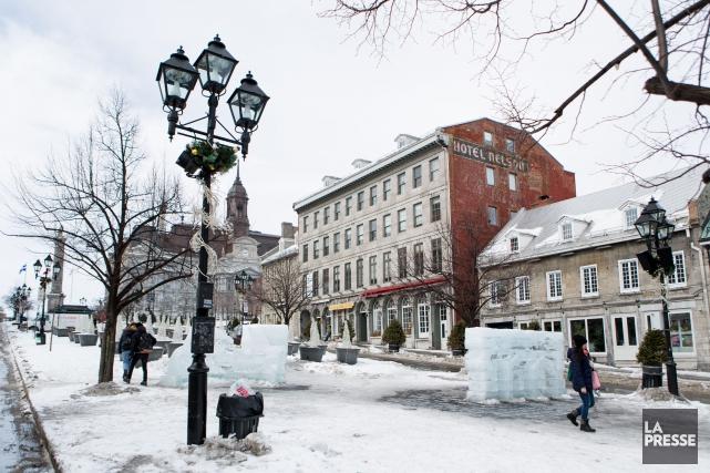 Montréal devrait recevoir samedi environ trois centimètres de... (PHOTO SIMON GIROUX, ARCHIVES LA PRESSE)