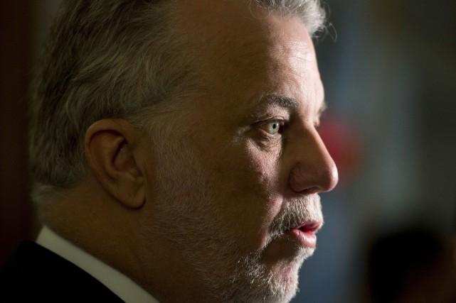 Selon notre chroniqueur, Philippe Couillard est le plus... (PHOTO JACQUES BOISSINOT, ARCHIVES LA PRESSE CANADIENNE)