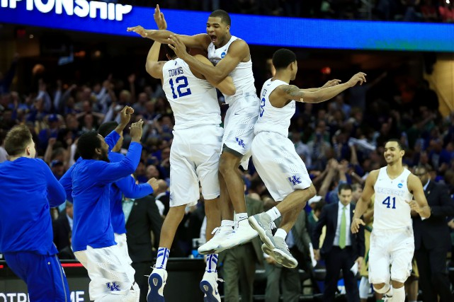 Les Wildcats du Kentucky ont porté leur dossier... (PHOTO ANDREW WEBER, USA TODAY)
