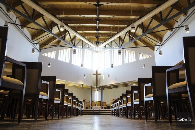 La nouvelle église Saint-Paul a une vocation multifonctionnelle.... (Patrick Woodbury, LeDroit)
