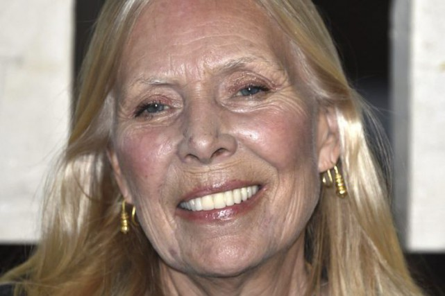 Joni Mitchell... (PHOTO JOHN SHEARER, ARCHIVES AP)