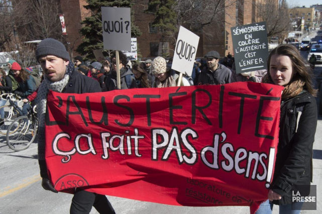 Si l'Association pour une solidarité syndicale-étudiante (ASSÉ) mise... (Robert Skinner, La Presse)