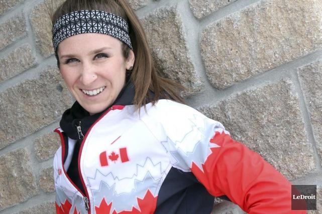 La patineuse de vitesse Ivanie Blondin veut arriver... (Étienne Ranger, Archives LeDroit)