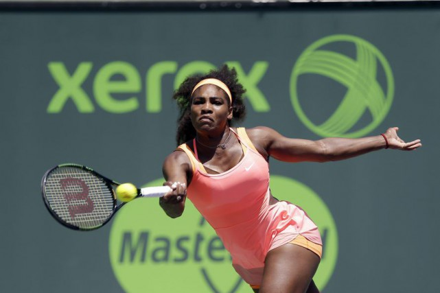 Serena Williams... (PHOTO ALAN DIAZ, AP)