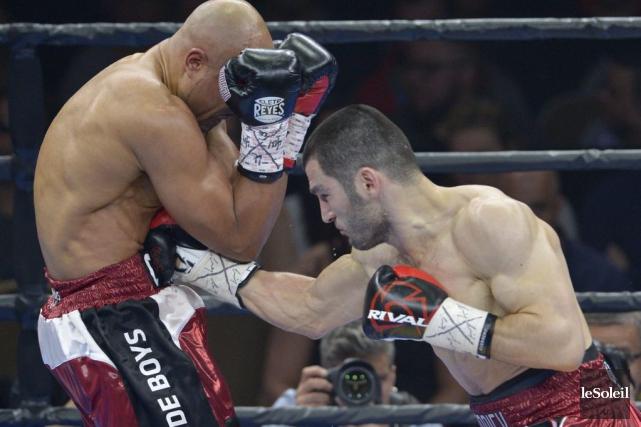 ArturBeterbiev est une vedette montante de la boxe... (Photo Yan Doublet, Le Soleil)