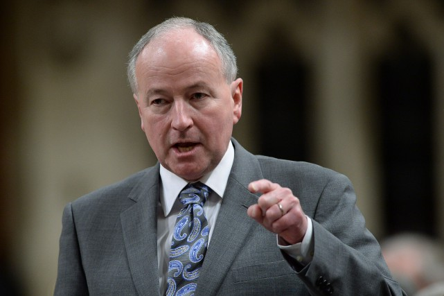 Le ministre des Affaires étrangères, Rob Nicholson.... (PHOTO SEAN KILPATRICK, ARCHIVES LA PRESSE CANADIENNE)