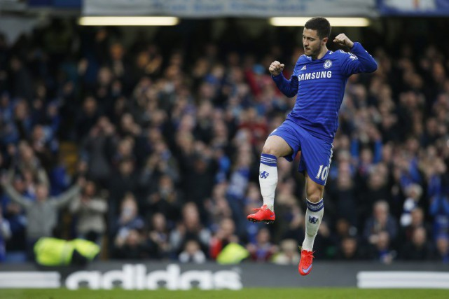 Eden Hazard... (Photo Andrew Couldridge, Reuters)