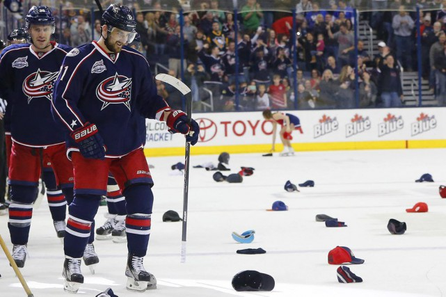 Nick Foligno... (Photo Russell LaBounty, USA TODAY Sports)