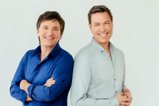 Francis Reddy et Ricardo Larrivée soumettent leur expérimentations... (Photo John Londono)