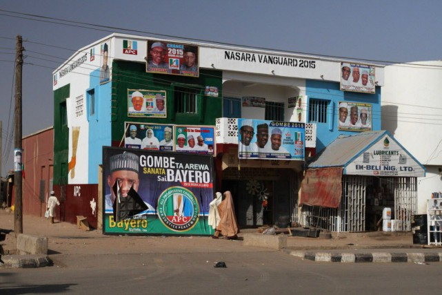La ville de Gombe, où Boko Haram a... (Photo Afolabi Sotunde, archives Reuters)