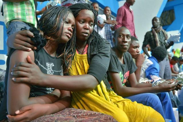 Le président kényan Uhuru Kenyatta a annoncé samedi... (Photo Tony KARUMBA, AFP)