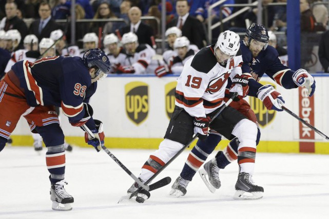 Les Rangers ont gagné leurs trois derniers matchs.... (Photo Frank Franklin II, AP)