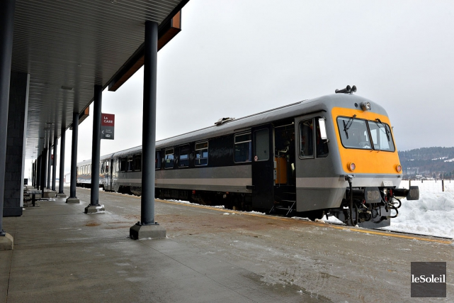 Les passagers pourront grimper à bord du train... (Photothèque Le Soleil, Patrice Laroche)