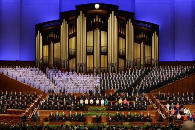 Selon l'Église mormone, l'attirance envers les personnes du... (Photo Rick Bowmer, AP)