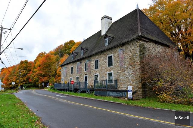Situé à Château-Richer, le Moulin du Petit-Pré était... (Photothèque le Soleil, Patrice Laroche)