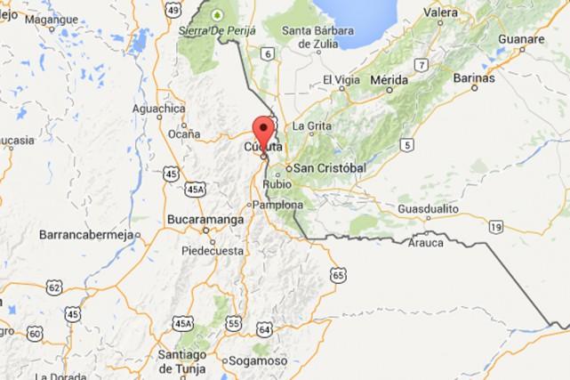 L'attaque a eu lieu près de la ville... (Photo tirée de Google Maps)