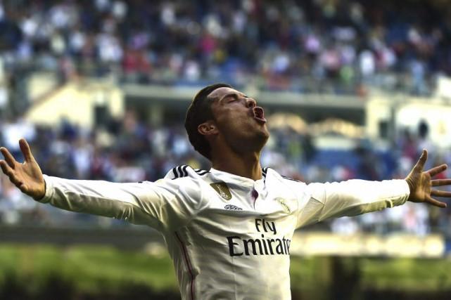 Cristiano Ronaldo comptedésormais 36 buts à sa fiche... (PHOTO GERARD JULIEN, AFP)