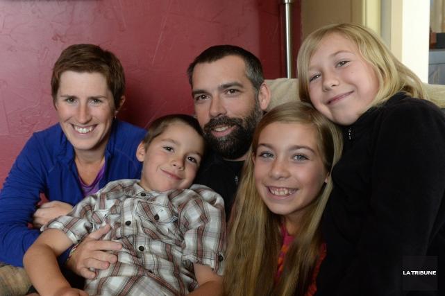 La famille Simard vient tout juste de revenir... (IMACOM, Maxime Picard)