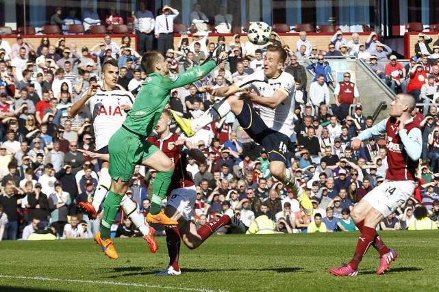 Harry Kane a été incapable de déjouer le... (PHOTO CRAIG BROUGH, REUTERS)