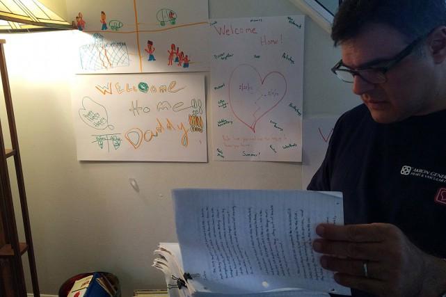 En février dernier, John Kiriakou est sorti de... (PHOTO Alexander Panetta, LA PRESSE CANADIENNE)