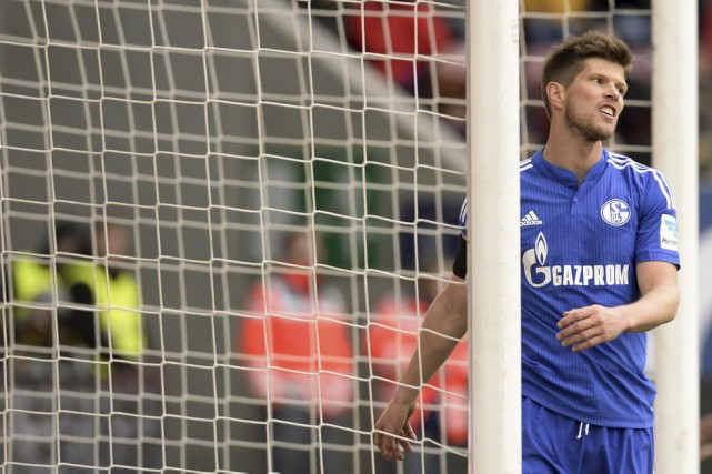 Klaas-Jan Huntelaar... (PHOTO CHRISTOF STACHE, AFP)