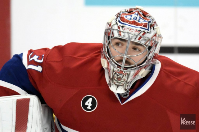 Carey Price... (PHOTO BERNARD BRAULT, LA PRESSE)