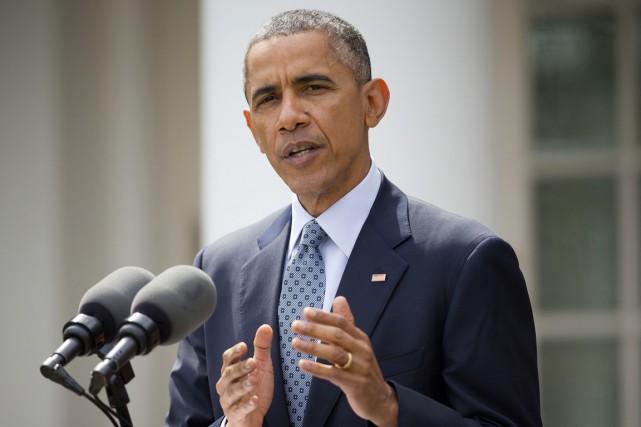 Le président américain s'est dit préoccupé par le... (Photo Pablo Martinez Monsivais, AP)